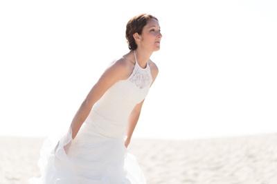 dune Pilat rode de mariée