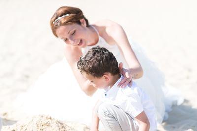 dune Pilat mere robe de mariée