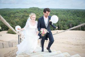 Mariage à la dune du Pilat